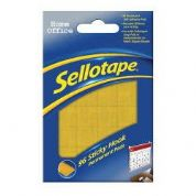 Sellotape Home Office -Sticky Hook Pads (pack of 96)